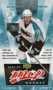 2006/07 Upper Deck MVP Hockey Hobby Box
