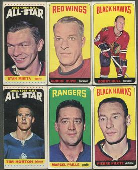 1964/65 Topps Hockey Complete Set (VG-EX)