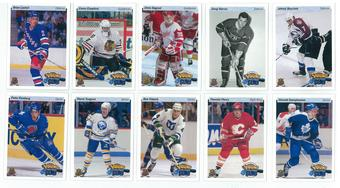 2014/15 Upper Deck Hockey Card Day 25th Anniversary Retro Young Guns Complete 10 Card Set