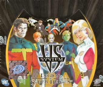 Vs System DC Legion of Super Heroes Booster Box
