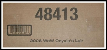 World of Warcraft Onyxia's Lair Raid Deck Box