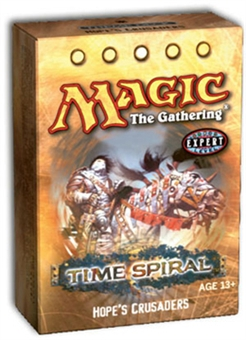 Magic the Gathering Time Spiral Hope's Crusaders Theme Deck