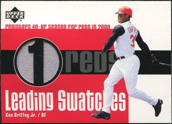 2003 Upper Deck Leading Swatches Jersey #KG Ken Griffey Jr. 40 HR