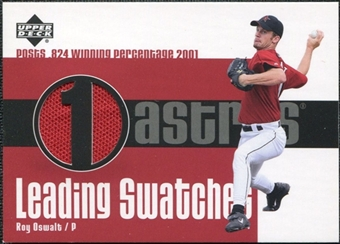 2003 Upper Deck Leading Swatches Jersey #RO1 Roy Oswalt PCT SP