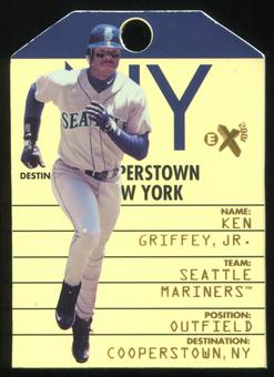 1998 E-X2001 Destination Cooperstown #7 Ken Griffey Jr.