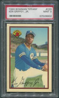 1989 Bowman Tiffany Baseball #220 Ken Griffey Jr. Rookie PSA 9 (MINT)