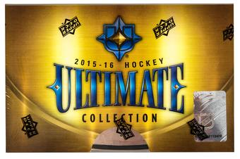 2015/16 Upper Deck Ultimate Collection Hockey Hobby Box