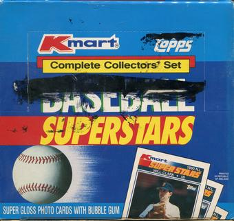 1990 Topps Baseball K-Mart Superstars Set Box