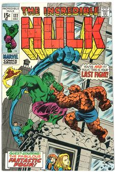 Incredible Hulk #122 FN/VF