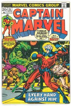 Captain Marvel #25 VG/FN