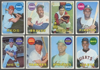 1969 Topps Baseball Complete Set (EX-MT / NM)