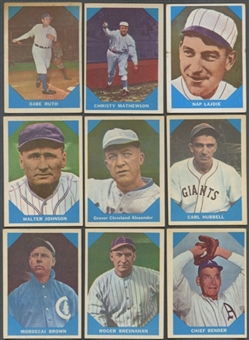 1960 Fleer Baseball Complete Set (VG-EX)