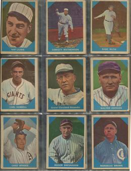 1960 Fleer Baseball Complete Set (VG)