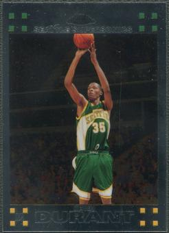 2007/08 Topps Chrome #131 Kevin Durant Rookie