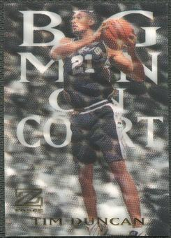 1997/98 Z-Force #4 Tim Duncan Big Men on Court