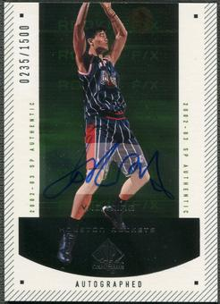 2002/03 SP Authentic #143 Yao Ming Rookie Auto #0235/1500