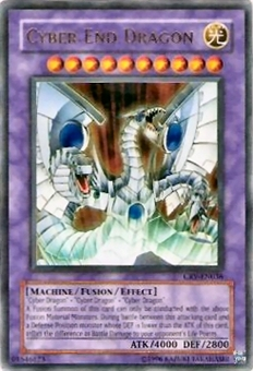 Yu-Gi-Oh Cybernetic Revolution Single Cyber End Dragon Ultra Rare