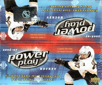 2006/07 Upper Deck Power Play Hockey Box