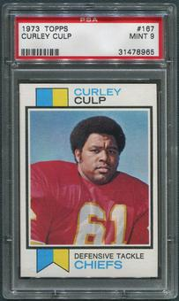 1973 Topps Football #167 Curley Culp Rookie PSA 9 (MINT)
