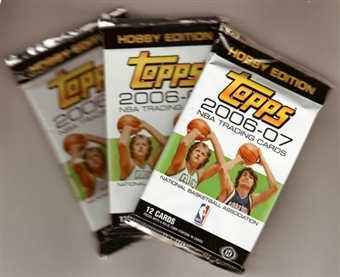 2006/07 Topps Basketball Hobby Pack