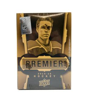 2015/16 Upper Deck Premier Hockey Hobby Box