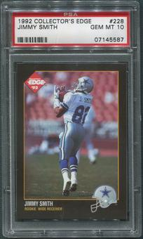 1992 Collector's Edge #228 Jimmy Smith Rookie PSA 10 (GEM MT)