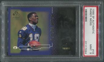 1998 SP Authentic Football #18 Randy Moss Rookie #1954/2000 PSA 9 (MINT)