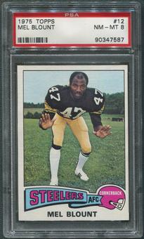 1975 Topps Football #12 Mel Blount Rookie PSA 8 (NM-MT)