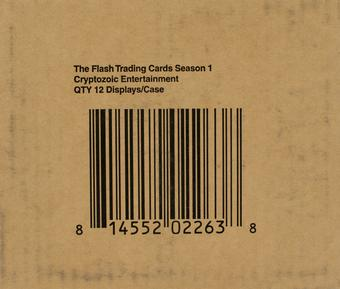 The Flash Season 1 Trading Cards 12-Box Case (Cryptozoic 2016)