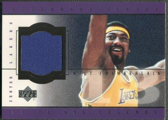 2000 Upper Deck Century Legends #WCJ Wilt Chamberlain Legendary Jersey