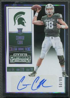 2016 Panini Contenders Draft Picks #103 Connor Cook Rookie Auto #50/99