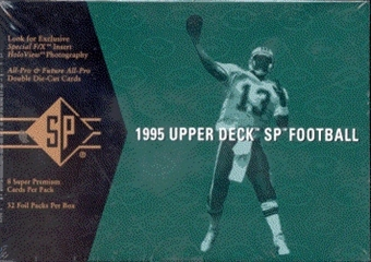1995 Upper Deck SP Football Hobby Box
