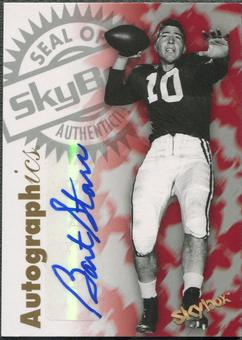 2012 Fleer Retro #97BS Bart Starr Autographics 1997 Auto