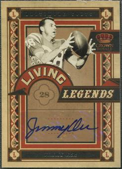 2010 Crown Royale #15 Jimmy Orr Living Legends Auto #05/10