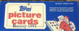 1991/92 Topps Hockey Vending Box
