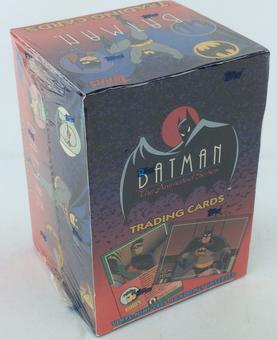 Batman The Animated Series 1 Trading Cards Box (Topps 1993)
