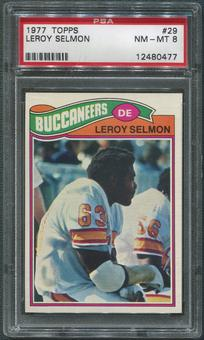 1977 Topps Football #29 Lee Roy Selmon Rookie PSA 8 (NM-MT)