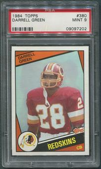 1984 Topps Football #380 Darrell Green Rookie PSA 9 (MINT)