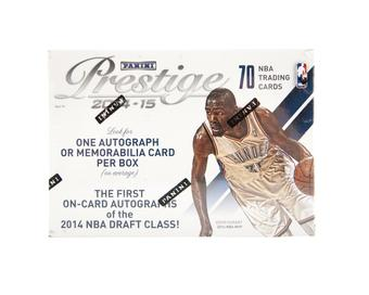 2014/15 Panini Prestige Basketball Blaster Box (One Auto or Memorabilia Card Per Box!)