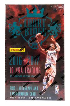 2016/17 Panini Court Kings Basketball Hobby Box