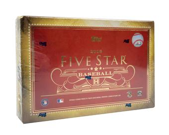 2016 Topps Five Star Baseball Hobby 8-Box Case- DACW Live 26 Spot Random Team Break #4