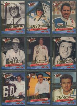 1993 Press Pass Wheels Rookie Thunder Racing Complete Set W/ Insert Sets