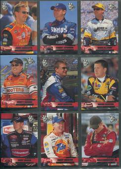 2003 Press Pass Racing Complete Set W/ Insert Sets