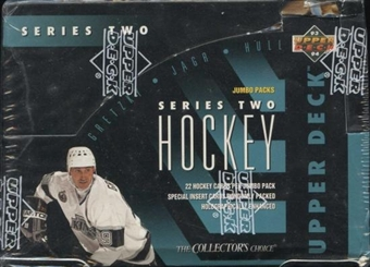 1993/94 Upper Deck Series 2 Hockey Jumbo Box