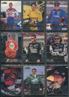 1998 Press Pass Wheels Racing Complete Set W/ Insert Sets