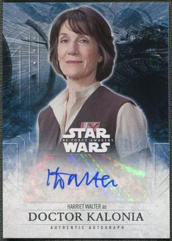 2016 Star Wars The Force Awakens Series Two Dame Harriet Walter as Doctor Kalonia Auto