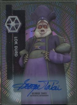 2015 Star Wars High Tek George Takei as Lok Durd Auto