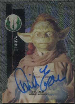 2015 Star Wars High Tek Phil Eason as Yaddle Auto
