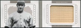 2014 Panini National Treasures #6 Roger Bresnahan Legends Jumbo Materials Bat #04/10