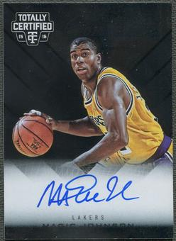 2015/16 Totally Certified #20 Magic Johnson Competitor Auto #24/25
